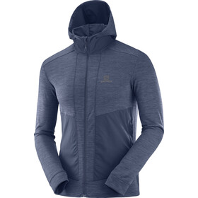 Salomon Outline Midlayer Jas Heren, night sky heather